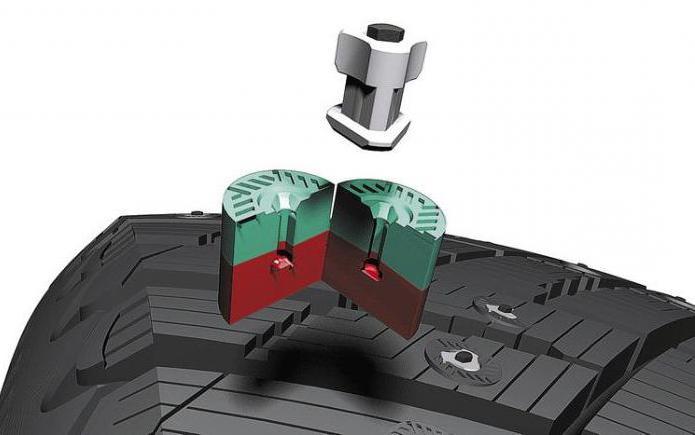Ошиповка зимних шин ремонтным шипом